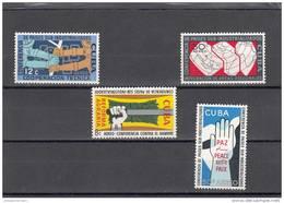 Cuba Nº A217 Al A220 - Airmail