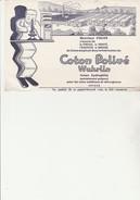 BUVARD - COTON POLIVE WUHRLIN - 27 HONDOUVILLE - Chemist's
