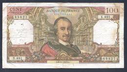 BILLET DE 100 FRANCS CORNEILLE DU6-11-1975 X.891  F 65 50 - 1962-1997 ''Francs''