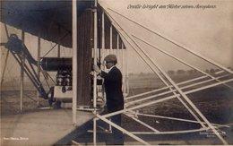 AIR CONQUEST- ORVILLE WRIGHT-AEROPLANE -ORIGINAL VINTAGE PC-14 - ....-1914: Précurseurs