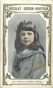 Ref A251 -chromo -chocolat Guerin Boutron -2eme Livre D Or -royauté -famille Royale -princesse Yolande Malfada D  Italie - Guérin-Boutron