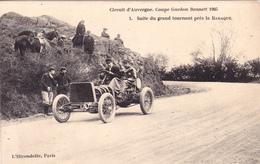CPA Coupe Gordon Bennett 1905 Suite Du Grand Tournant Près De La BARAQUE - Non Classificati