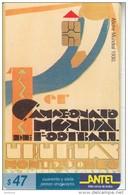 URUGUAY - Campeonato Mundial De Football Uruguay 1930(65a), 07/99, Used