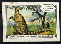 Meurisse - Ca 1930 - 102 - Monstres Disparus, Dinosaurs - 1 - L'Iguanodon De Bernissart - Sonstige