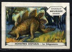 Meurisse - Ca 1930 - 102 - Monstres Disparus, Dinosaurs - 6 - Le Stégosaure, Stegosaurus - Sonstige