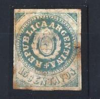 ARGENTINA04) 1862 - 15 Cent. Blue SCOTT 7a MLH - Nuovi