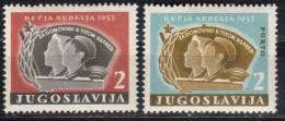 Yugoslavia, Children's Week 1957.,MNH - 1945-1992 Socialist Federal Republic Of Yugoslavia