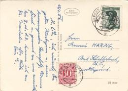 ÖSTERREICH NACHPORTO 1956 - 30 Gro Nachporto + 1 S Auf AkHofkirche In INNSBRUCK - Portomarken