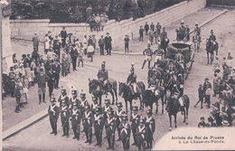 La Chaux De Fonds Suisse, Arrivée Du Roi De Prusse En 1910 (11) Déchirure Milieu Haut - Familles Royales
