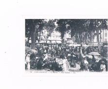 Carte Publicitaire - Voir Au Dos - 11 CARCASSONNE -  LE MARCHE - Place Carnot - Publicidad