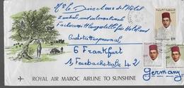 MAROC  Lettre - Marokko (1956-...)