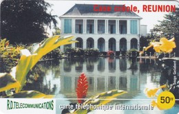 Reunion, REU-06, 50 ₣, Casa Creole 2, Only 2000 Issued, 2 Scans.