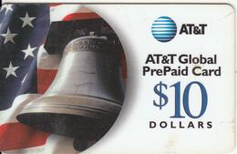 USA - Bell, AT&T Prepaid Card $10, Used - Telefonkarten