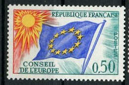 France 1965 50c Council Of Europe Issue #1O13 - Service