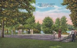 Wisconsin Janesville Shuffleboard Courts In Riverside Park - Janesville