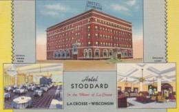 Wisconsin La Crosse Hotel Stoddard Curteich - Kenosha