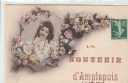 Amplepuis Carte Souvenir Jolie Carte Fantaisie - Amplepuis