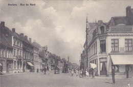 Roeselaere Rousselare Roulers - Rue Du Nord (animation, Café, Attelage, Pomp) - Roeselare