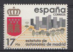 ESPAGNE 1984  Mi.nr: 2662 Autonomiestatut Für Madrid NEUF SANS CHARNIERE / MNH / POSTFRIS
