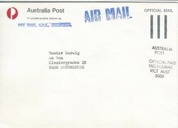 Australia - Official Mail - Airmail.  H-1114 - 2010-... Elizabeth II