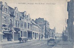 Roeselaere Rousselare Roulers - Noordstraat (bank, Animation, Edit. C. Devroe) - Roeselare