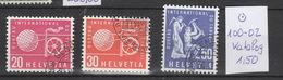 Schweiz  Gestempelt Used  Internationale Organisationen BIT/ILO  100-107  Katalog  4.30