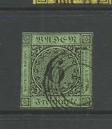 1851  6K Black On Green Good  Used