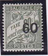 Algérie Taxe N° 12 Neuf *