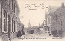 Ardoye - Statiestraat Nieuwe Post (Edit. Lioen Frères, Tram, Tramway, 1902) - Ardooie