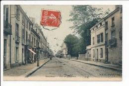 Carte De Saumur  Rue De Bordeaux  ( Recto Verso ) - Saumur