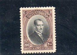 TURQUIE 1926 * - 1921-... Republik