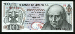 Mexiko - Mexico 1971, 10 Pesos - Erhaltung II - Serie 1AT - T7245834 - Mexiko