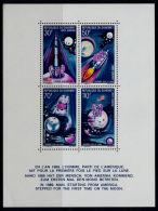 B5283 DAHOMEY 1970, SG MS393  1st Man On The Moon,  MNH - Benin - Dahomey (1960-...)