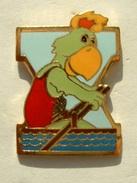 PIN'S JEUX PANAMERICAINS 1987 - PERROQUET - PARROT - AVIRON - ROWING - Aviron
