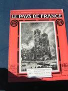 Pays De France 1914 3bis RIBECOURT ANDERNAY CHOISY AU BAC LAGNY THORIGNY SENLIS REIMS MEAUX SOISSONS - Boeken, Tijdschriften, Stripverhalen