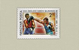 Hungary 1985. Boxing Stamp MNH (**) Michel: 3750 / 0.50 EUR - Ungebraucht