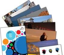 Greece Thessaloniki Salonique Official 10 Pca Set Ed. 2014 Hellenic Post Unused New! - Grecia