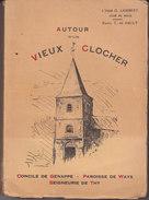 LIVRE AUTOUR D'UN  VIEUX  CLOCHER - Genappe