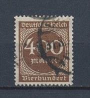 Duitse Rijk/German Empire/Empire Allemand/Deutsche Reich 1923 Mi: 271 Yt: 246 (Gebr/used/obl/o)(1887) - Duitsland