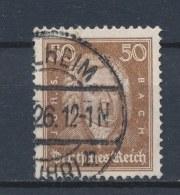 Duitse Rijk/German Empire/Empire Allemand/Deutsche Reich 1926 Mi: 396 Yt: 388 (Gebr/used/obl/o)(1889) - Duitsland