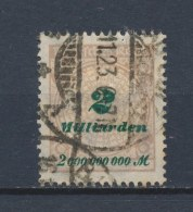 Duitse Rijk/German Empire/Empire Allemand/Deutsche Reich 1923 Mi: 326 Yt:  (Gebr/used/obl/o)(1886) - Duitsland
