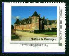 Chateau De Carrouges Adhésif Neuf ** . Collector Basse Normandie 2009 - Collectors