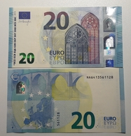 AUSTRIA 20 Euro 2015 Draghi  Letter NA  UNC/aUNC  Print Code  N007 D6 - EURO