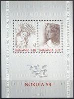 DÄNEMARK 1992 MI-NR.  Block 8 ** MNH