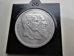 Belgique Module 5 Francs 1880  Léopold I & II - 09. 5 Francs