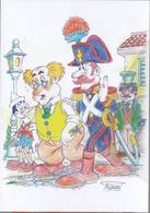 Pinocchio Burattino De Fable -Collodi CPM Le Chat Et Le Renard - Märchen, Sagen & Legenden