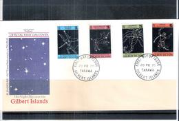 Espace - Constellations - FDC Gilbert Islands - Série Compète (à Voir) - Space