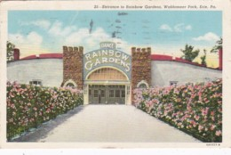 Pennsylvania Erie Entrance To Rainbow Gardens Waldameer Park 194