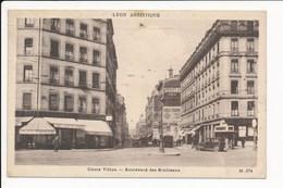 Carte De Lyon Boulevard Des Brotteaux ( Recto Verso ) - Autres