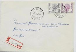 Doc. De GOTTEM (9803) Le 29/12/1975  En Rec. De Deinze 1 - Marcophilie